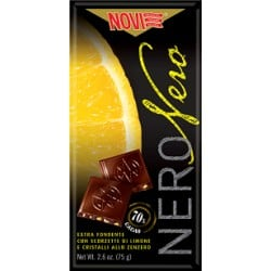 novi chocolat noir citron/gingembre