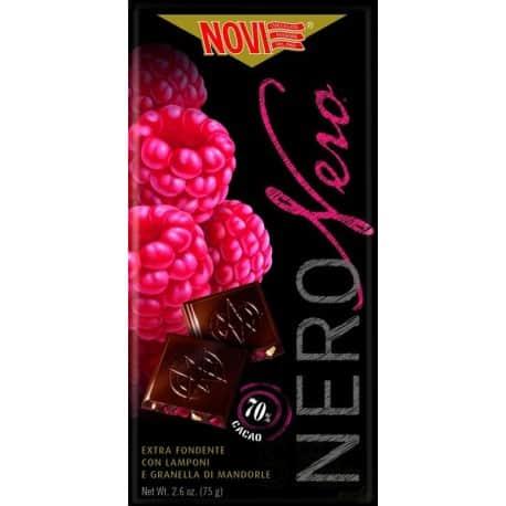 Novi chocolat noir frambroise/Amandes