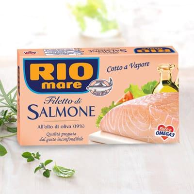 Rio Mare Filets De Saumon A L'huile D'olive