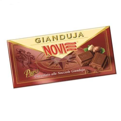 Novi tablette de chocolat gianduja