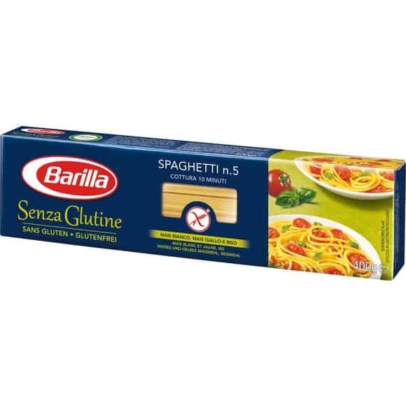 barilla spaghetti sans gluten