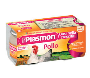 plasmon omogeneizzati poulet