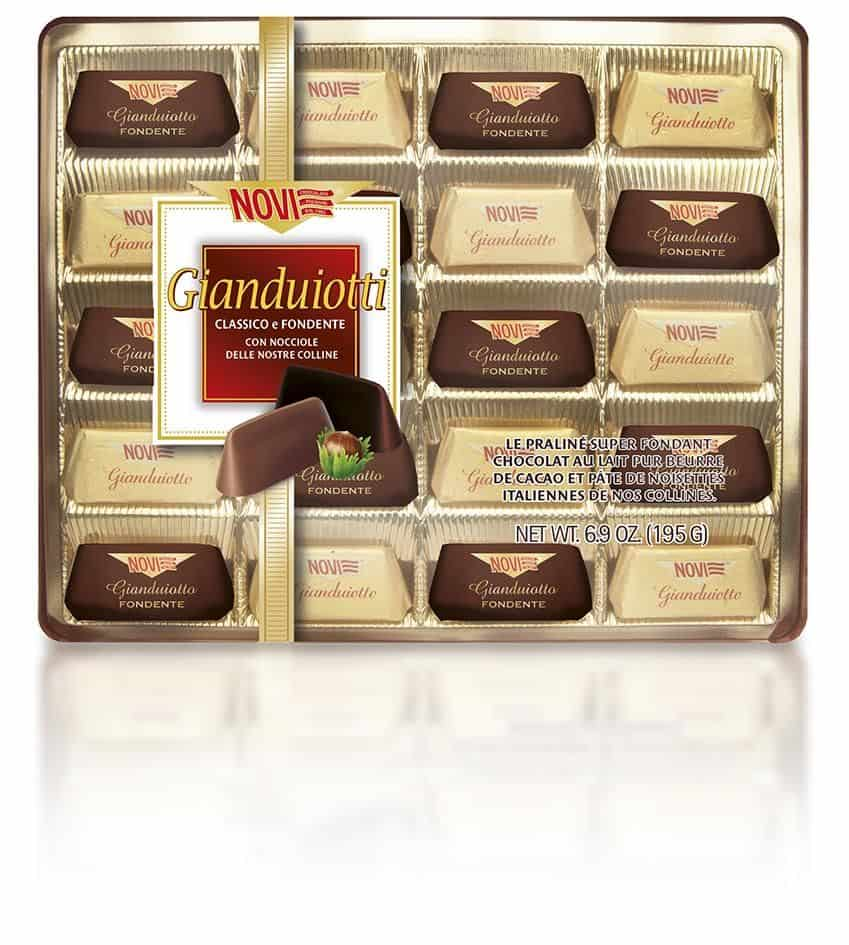 Gianduiotti assortiti
