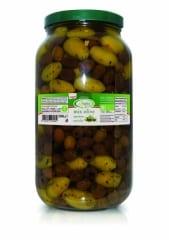 Bio olives mix apéritif sous huile