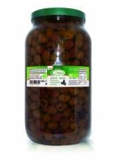Bio olives noires dénoyautées sous huile