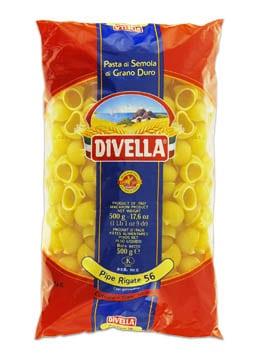 Pâtes Divella Pipe rigate