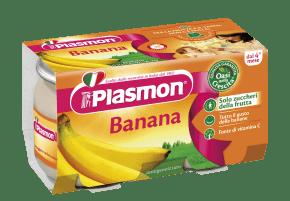 plasmon omogeneizzati banana