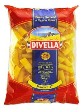 Pâtes Divella Rigatoni