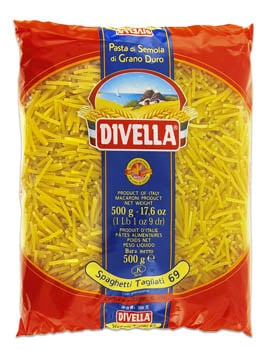 pâtes divella spaghetti tagliati